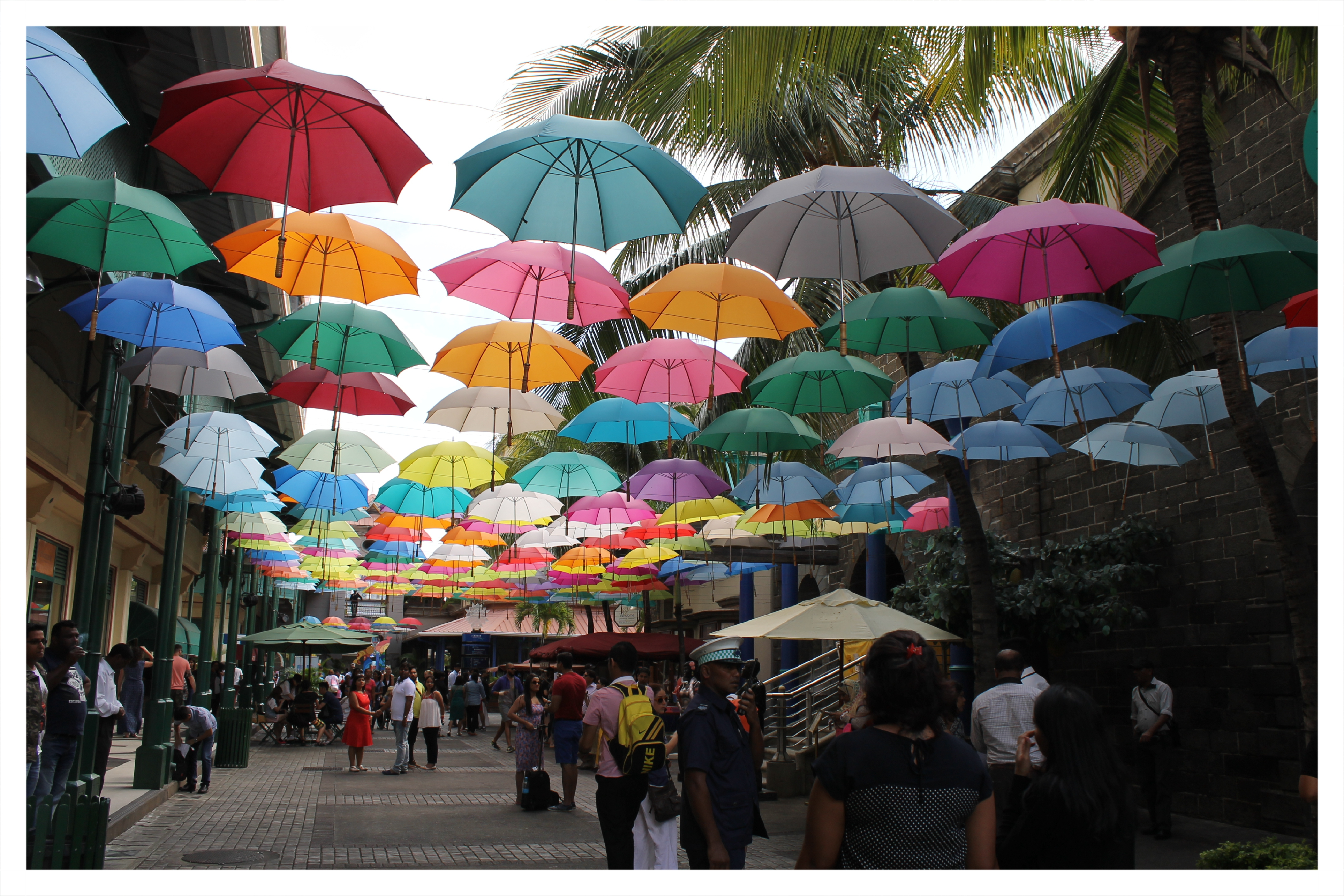 Port Louis Market, I would rather call it Rainbow Market!